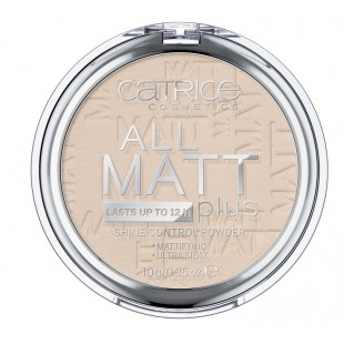 Catrice All Matt Plus Shine Control Powder Пудра матирующая