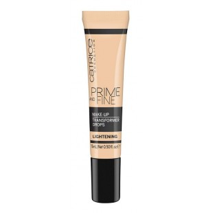 Catrice Prime and Fine Make Up Transformer Drops Lightening  Праймер для лица трансформер цвета