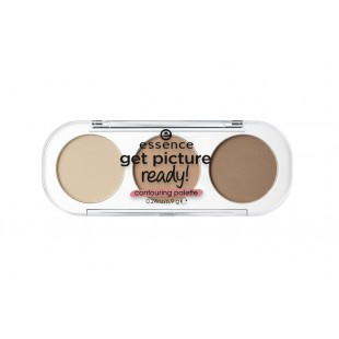 Essence Get picture ready! Contouring palette  Палетка контуринг для лица