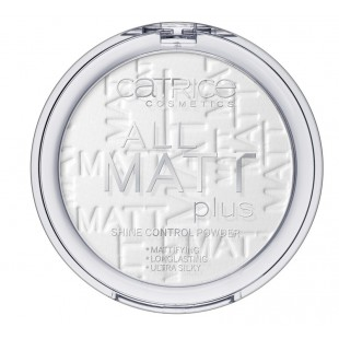 Catrice All Matt Plus Shine Control Powder Пудра для лица матирующая